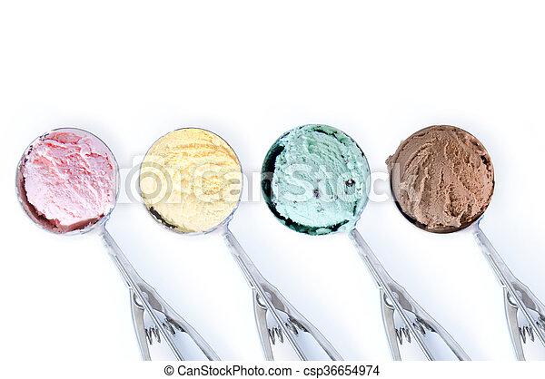 Bolas de helado - csp36654974
