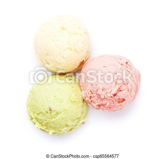 Bolas de helado - csp65564577