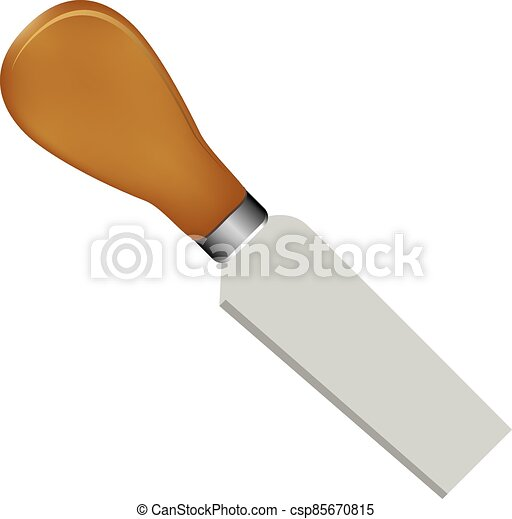 cuchillo, pequeño, queso - csp85670815