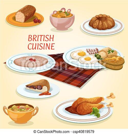 Cucina colazione britannico piatti pranzo torta for Piani colazione