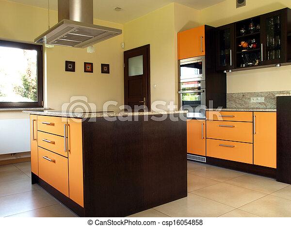 cucina, nuovo - csp16054858