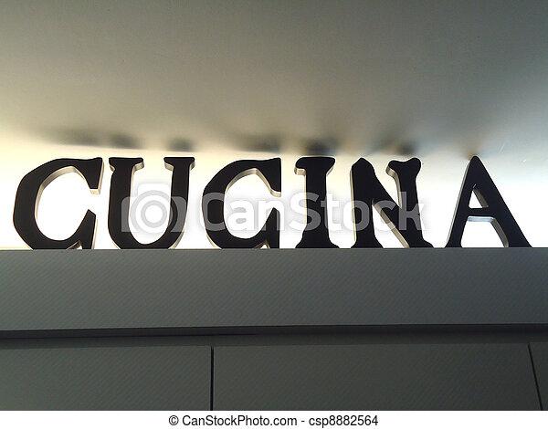 Great Cucina Or Italian Kitchen   Csp8882564