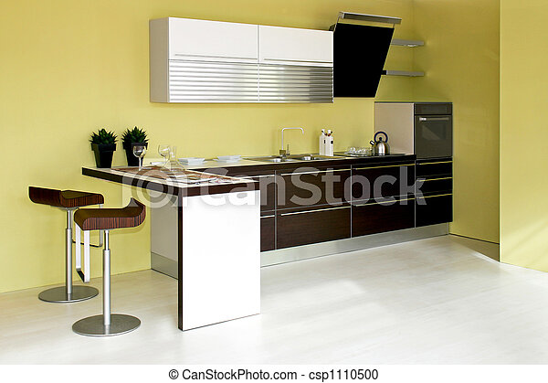 cucina, verde - csp1110500