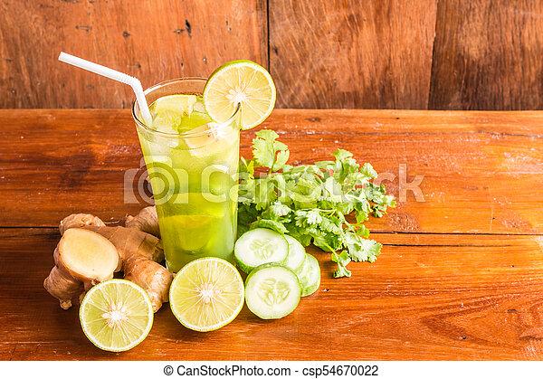 Cucumber drink - csp54670022
