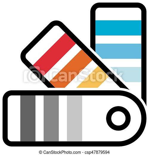 Cueilleur Palette Couleur échantillonneur Guide Icône
