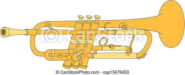 Horn - csp13476453