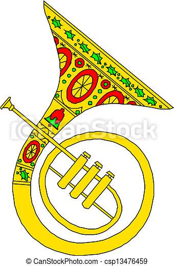 Horn - csp13476459