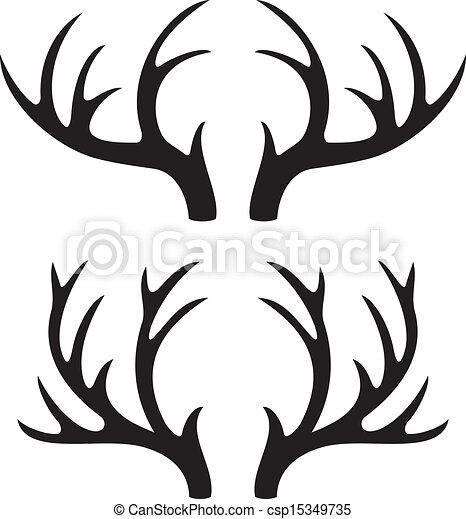 Cuernos de ciervo - csp15349735