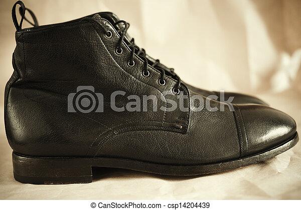 Botas de cuero - csp14204439