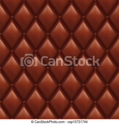 Trasfondo de cuero marrón - csp10731744