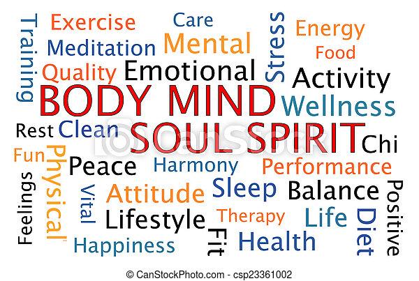 Espíritu del alma del cuerpo - csp23361002