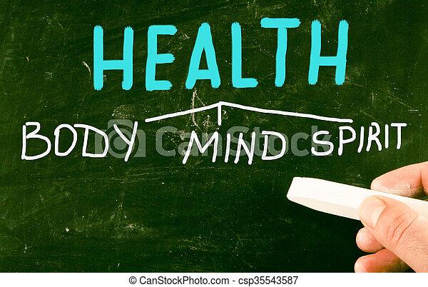 Espíritu de salud mental - csp35543587