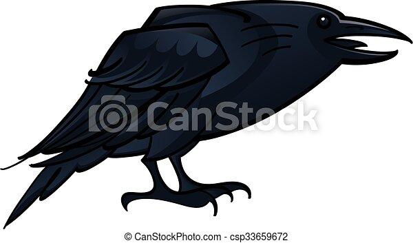 Cuervo cuervo - csp33659672