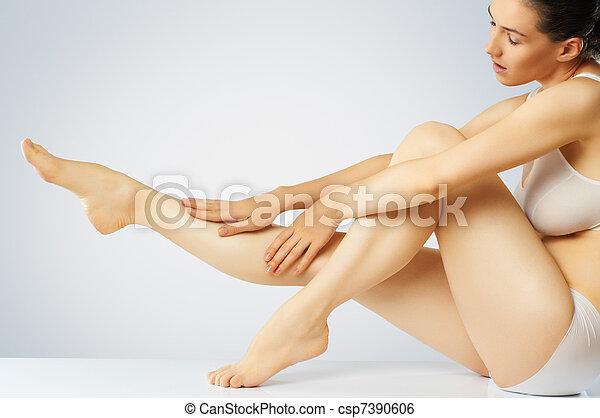 cuidado corpo - csp7390606