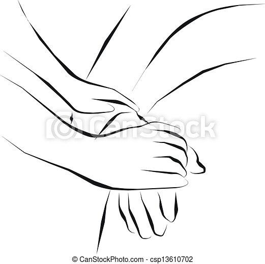 cuidado paliativo - csp13610702
