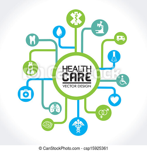 cuidado saúde - csp15925361