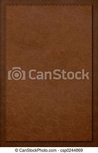 Cuir Couverture Livre Rouges