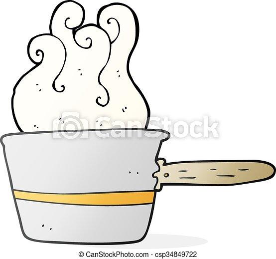 Dessin Casserole Cuisine freehand, cuisine, dessin animé, casserole, dessiné.