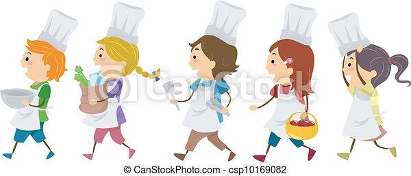 cuisine, gosses - csp10169082