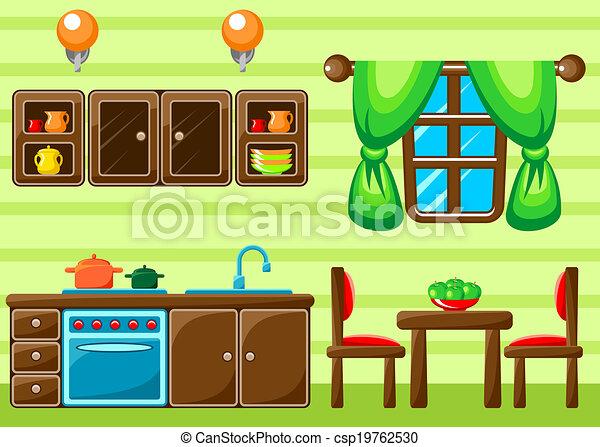 cuisine, interior. - csp19762530