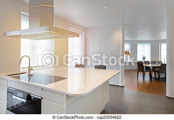 cuisine, moderne - csp23054622