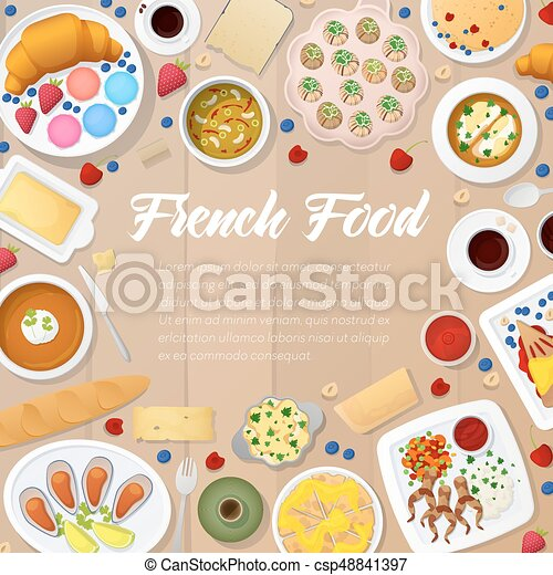 cuisine nourriture fran aise menu boulangerie vecteurs eps rechercher des clip art des. Black Bedroom Furniture Sets. Home Design Ideas