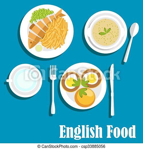 Cuisine tradizionale, nazionale, piatti, inglese. Appartamento ...