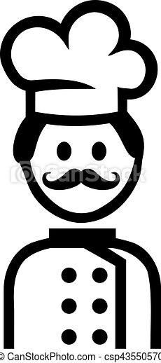 Cuisinier cuisine pictogramme - Pictogramme cuisine gratuit ...