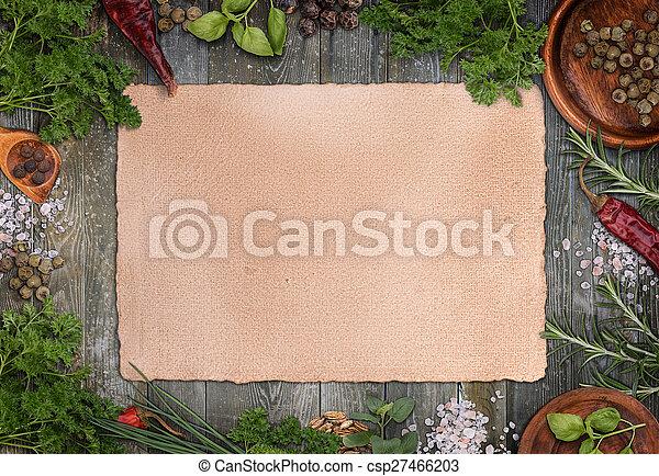 Culinary herbs - csp27466203