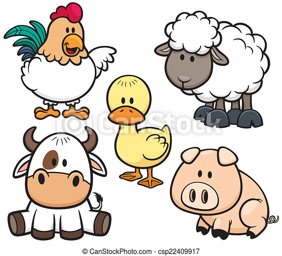 La granja de animales - csp22409917