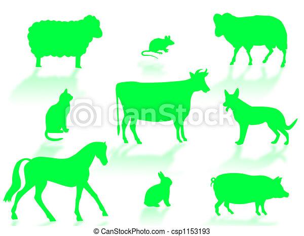 Animales de granja - csp1153193