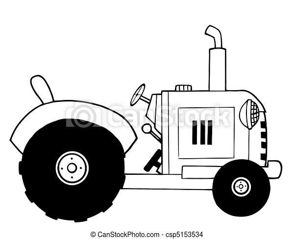 cultive trator - csp5153534