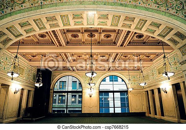 Centro cultural de Chicago - csp7668215