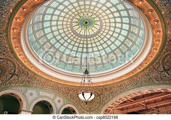 Centro cultural de Chicago - csp8022166