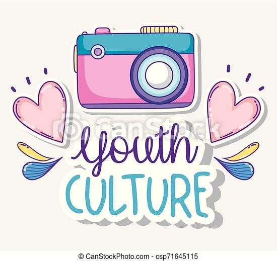 culture jeunesse, dessins animés - csp71645115