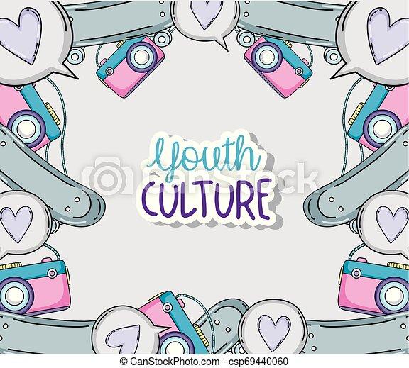 culture jeunesse, dessins animés - csp69440060
