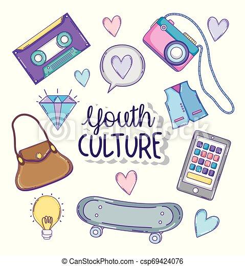 culture jeunesse, dessins animés - csp69424076