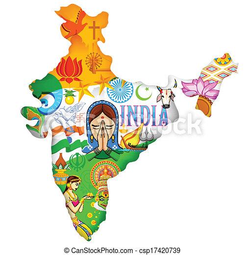 Culture of India - csp17420739
