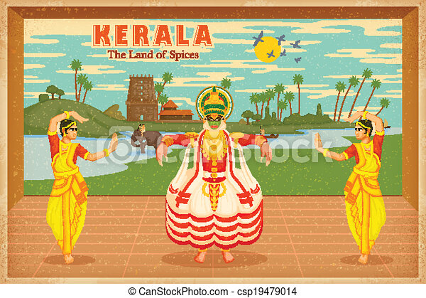 Culture of Kerala - csp19479014