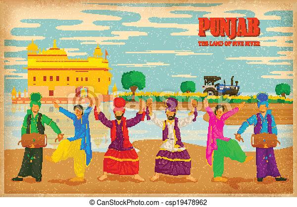 Culture of Punjab - csp19478962