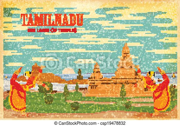 Culture of Tamilnadu - csp19478832