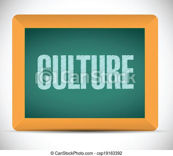 culture, planche, message - csp19163392