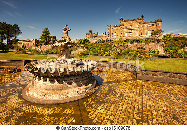 Culzean Castle, Ayrshire, Scotland - csp15109078