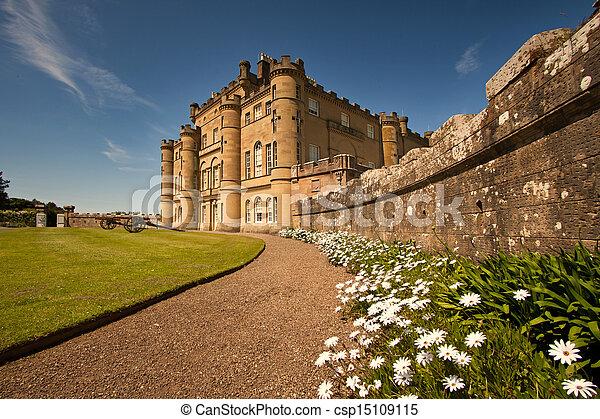 Culzean Castle, Ayrshire, Scotland - csp15109115