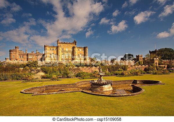 Culzean Castle, Ayrshire, Scotland - csp15109058