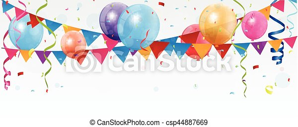 Estandarte de celebración de cumpleaños - csp44887669