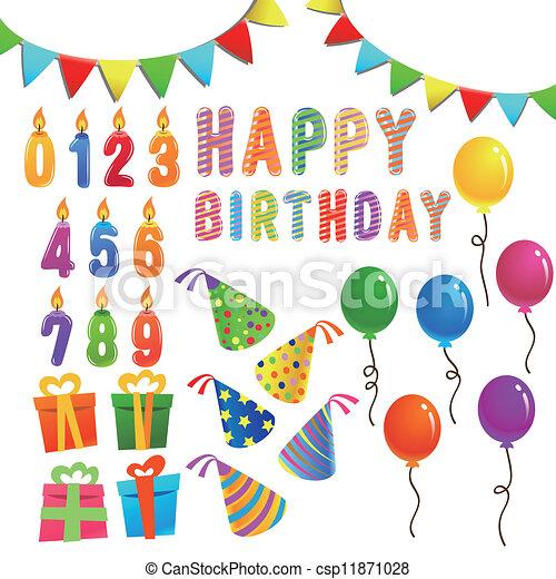 El juego de cumpleaños - csp11871028