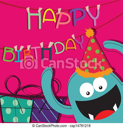 Feliz cumpleaños - csp14781218