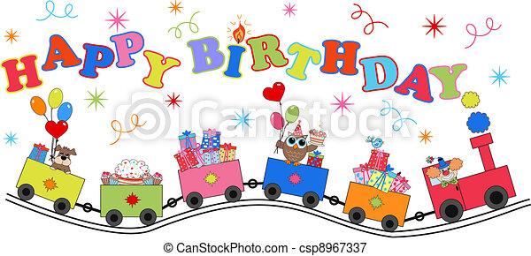 Feliz cumpleaños - csp8967337
