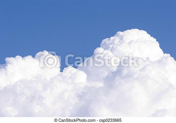 Cumulus Clouds # 1 - csp0233665